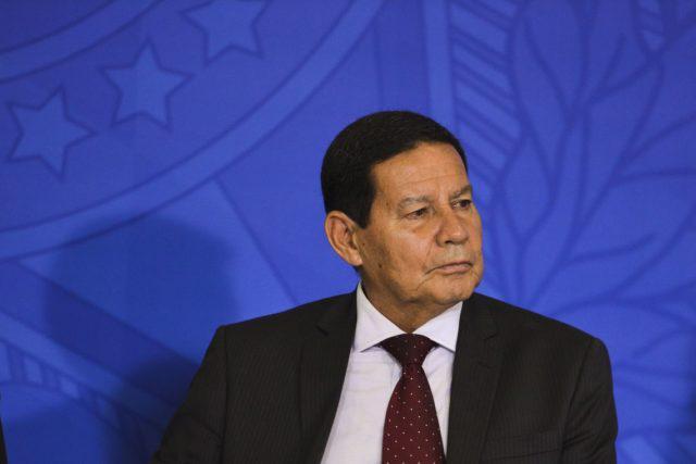 hamilton mourão vice-presidente da república e presidente do conselho da amazônia