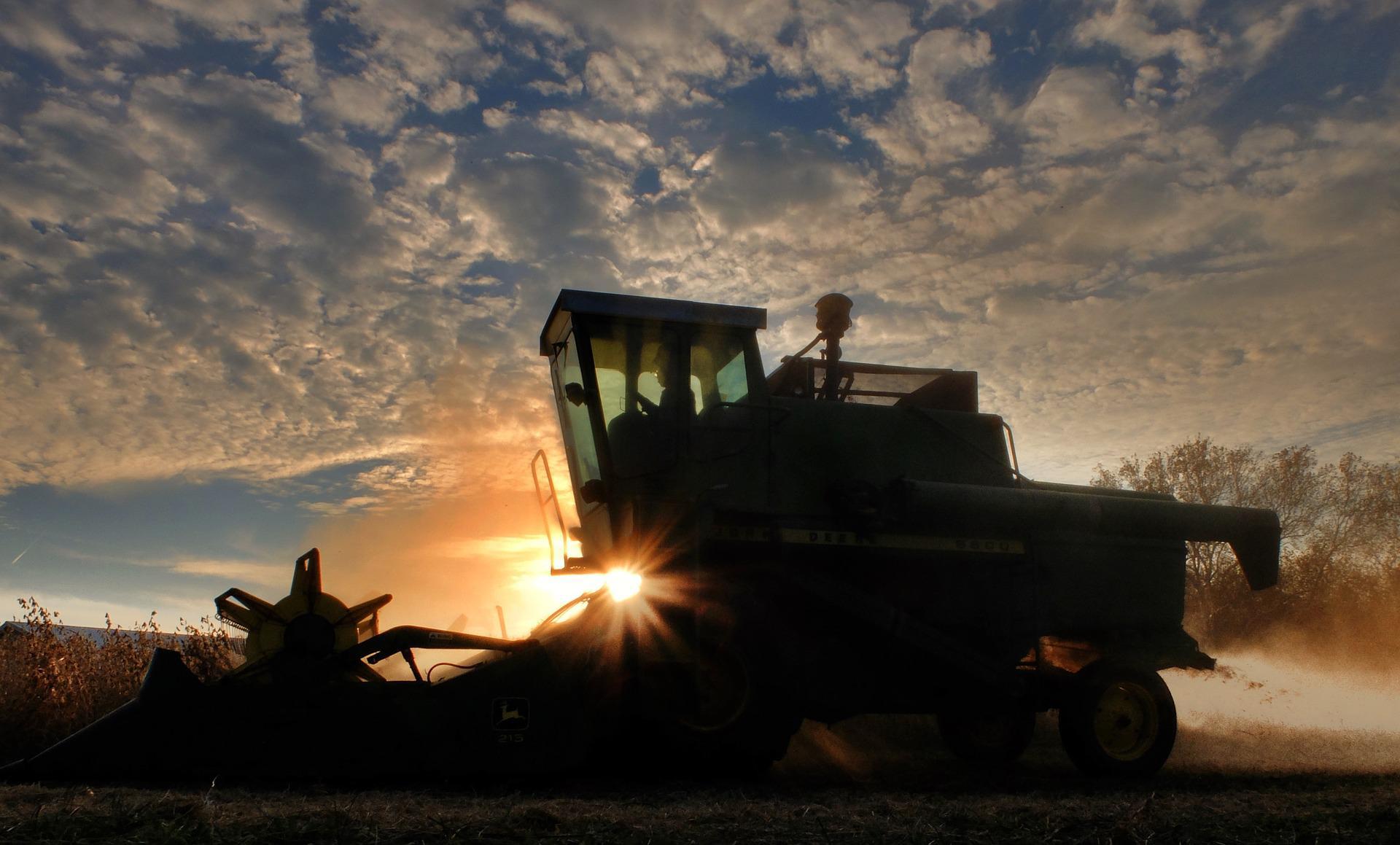 máquina, colheitadeira