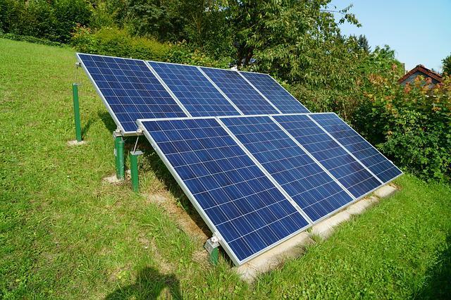 energia solar, placa fotovoltaica