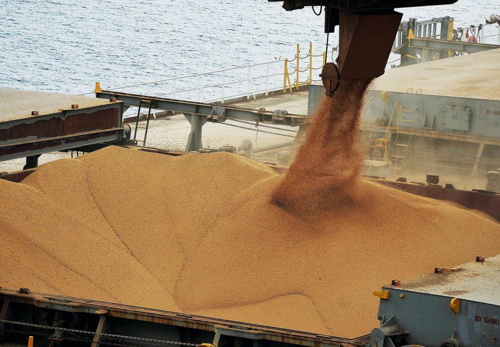 soja, porto, exportação, prêmios,embarque, Brasil