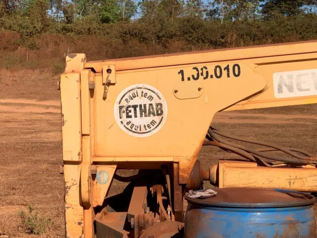 Atoleiro estrada em Mato Grosso