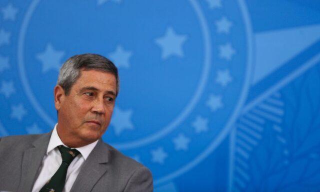 O ministro da Casa Civil, Braga Netto