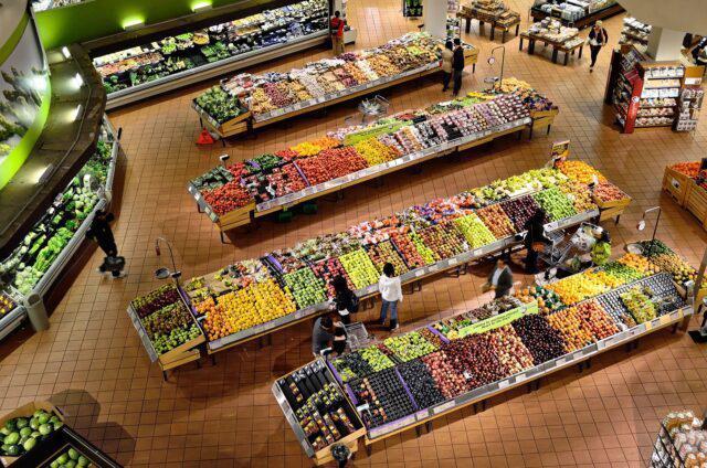 supermercado, mercado, alimentos, comida, abastecimento